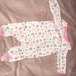 A baby girl onesie